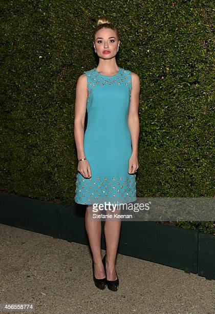 Actress Emma Rigby attends Claiborne Swanson Frank's Young Hollywood book launch hosted by Michael Kors at Private Residence on October 2 2014 in...