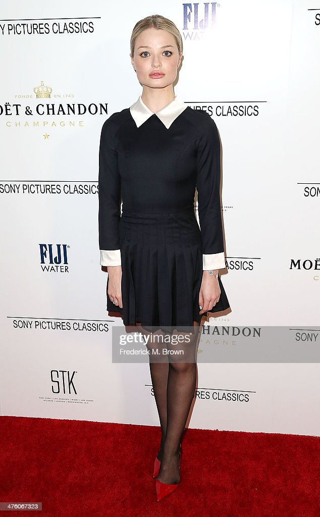 Actress Emma Rigby attends the Sony Pictures Classics' 2014 Oscar Dinner at the STK Steakhouse on March 1, 2014 in Los Angeles, California.