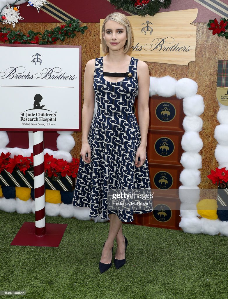 Brooks Brothers Hosts Annual Holiday Celebration In Los Angeles To Benefit St. Jude - Arrivals : News Photo