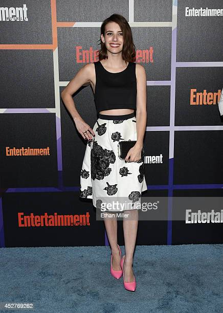 Actress Emma Roberts attends Entertainment Weekly's annual ComicCon celebration at Float at Hard Rock Hotel San Diego on July 26 2014 in San Diego...