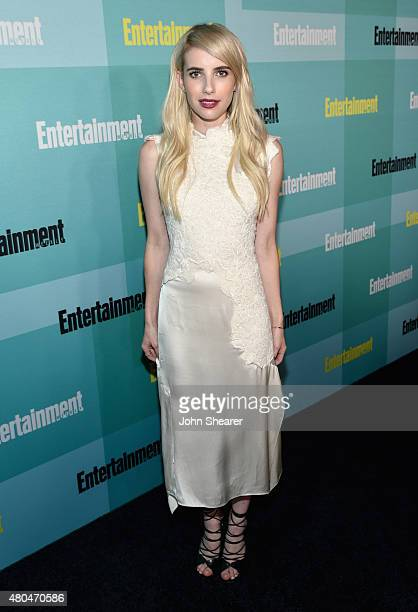 Actress Emma Roberts attends Entertainment Weekly's Annual ComicCon Party in celebration of ComicCon 2015 at FLOAT at The Hard Rock Hotel on July 11...