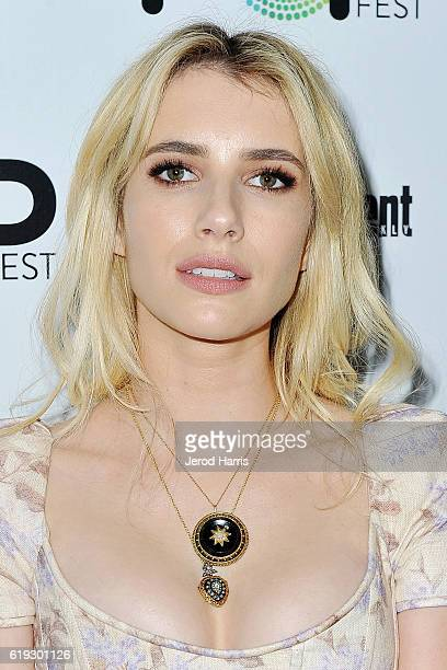 Actress Emma Roberts attends Entertainment Weekly's Popfest at The Reef on October 30 2016 in Los Angeles California