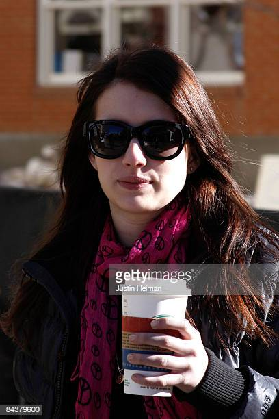 Actress Emma Roberts attends the 2009 Sundance Film Festival on January 20 2009 in Park City Utah