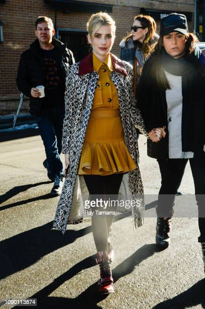 Actress Emma Roberts attends the 2019 Sundance Film Festival on January 26 2019 in Park City Utah
