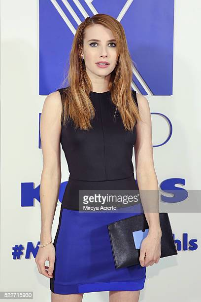 Actress Emma Roberts attends the REED x Kohl's Collection Launch dinner at Kohl's PR Showroom on April 20 2016 in New York City