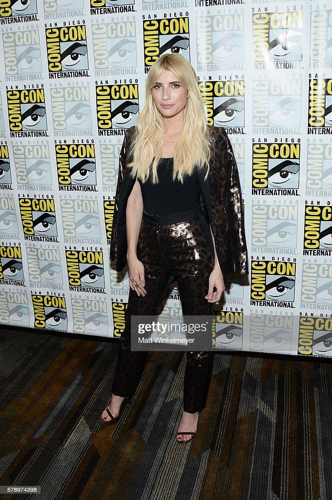 "Comic-Con International 2016 - ""Scream Queens"" Press Line"