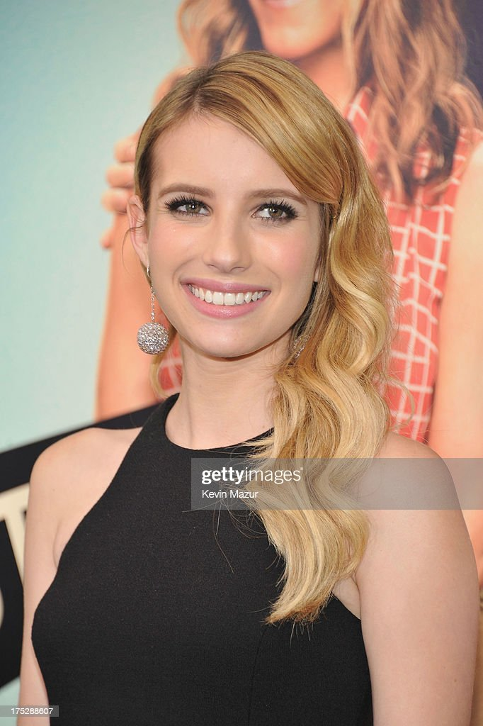 Actress Emma Roberts attends the 'We're The Millers' New York Premiere at Ziegfeld Theater on August 1, 2013 in New York City.