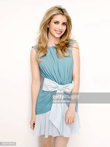 Actress Emma Roberts is photographed for Glamour Magazine Mexico on January 19 2011 Fashion Editor Mauricio Valdespino Contributing Stylists Emily...