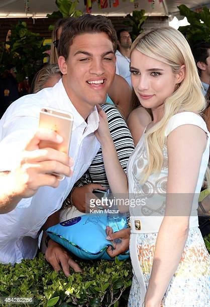 51 Emma Roberts 16 August 2015 Teen Choice Bilder Und Fotos Getty
