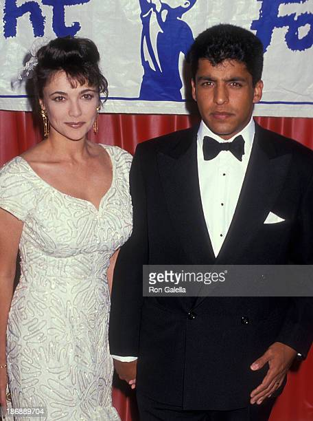 Actress Emma Samms and husband Bansi Nagji attend the Starlight Children's Foundation of Southern California's The Child In All of Us Eighth Annual...