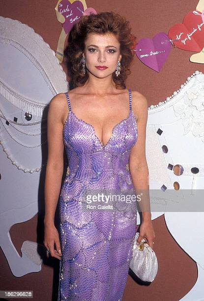 Actress Emma Samms attends Starlight Foundation's 'Starlight Wishes Valentine Dreams Musical Memories' Gala Fourth Annual Humanitarian Award Salute...