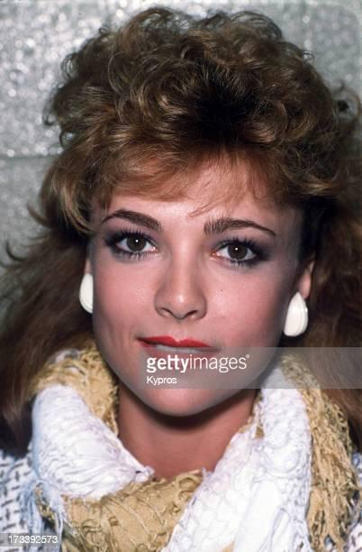 Actress Emma Samms circa 1990