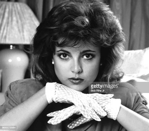 Actress Emma Samms on September 30 1985 in Los Angeles California