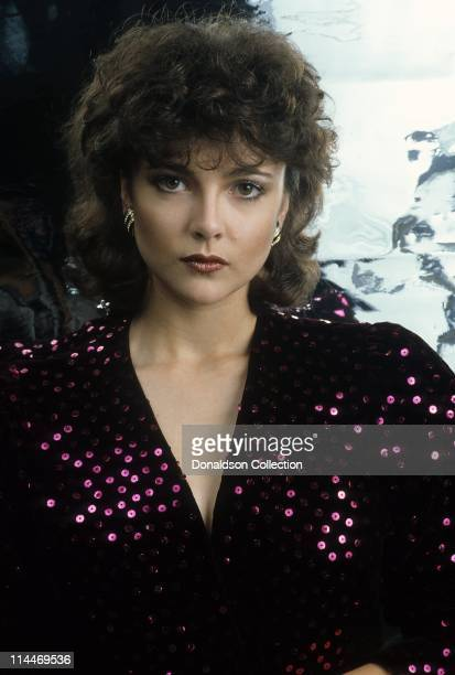 Actress Emma Samms poses for a portrait in circa 1985 in Los Angeles California