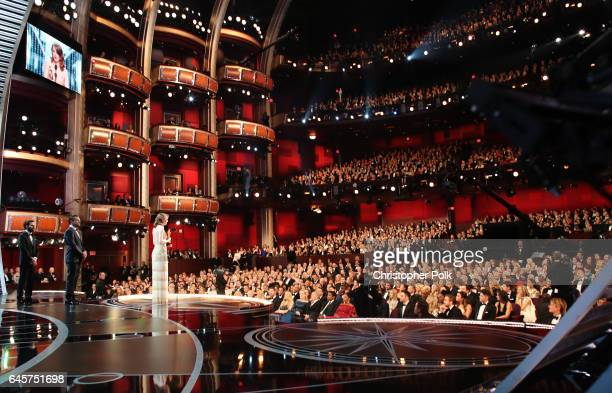 Actress Emma Stone accepts Best Actress for 'La La Land' onstage during the 89th Annual Academy Awards at Hollywood & Highland Center on February 26,...