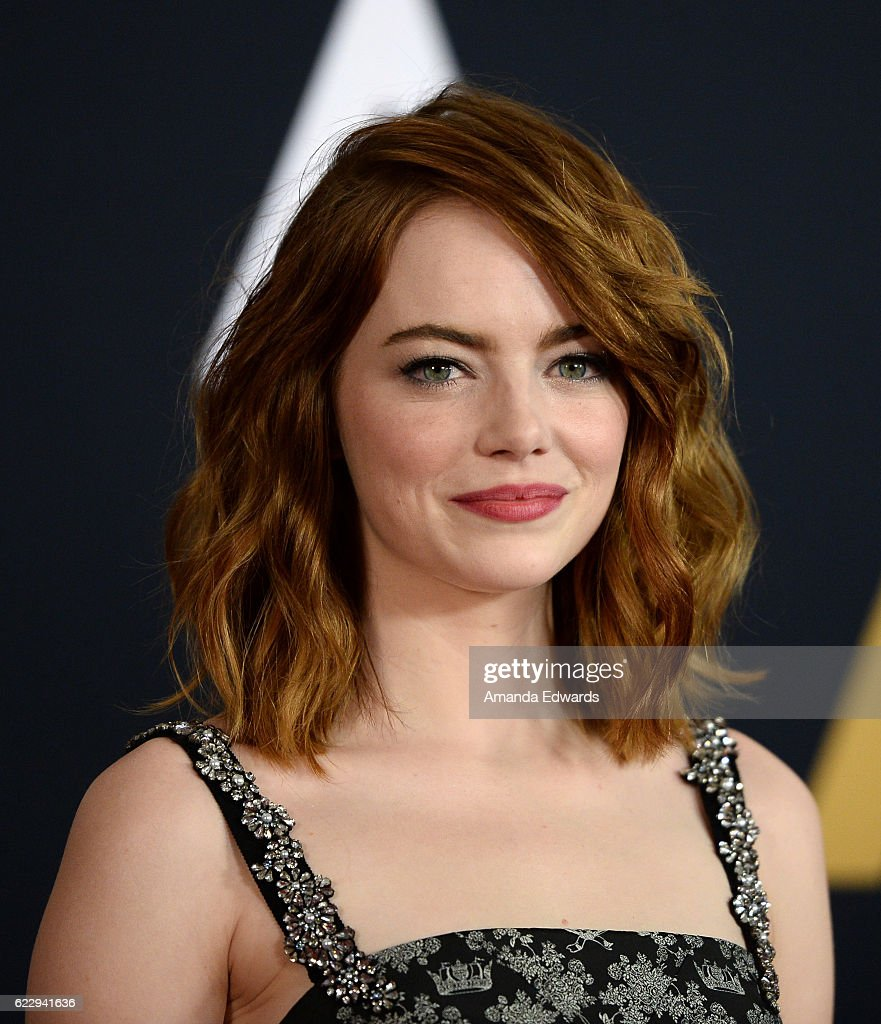 Actress Emma Stone arrives at the Academy of Motion Picture Arts and Sciences' 8th Annual Governors Awards at The Ray Dolby Ballroom at Hollywood & Highland Center on November 12, 2016 in Hollywood, California.