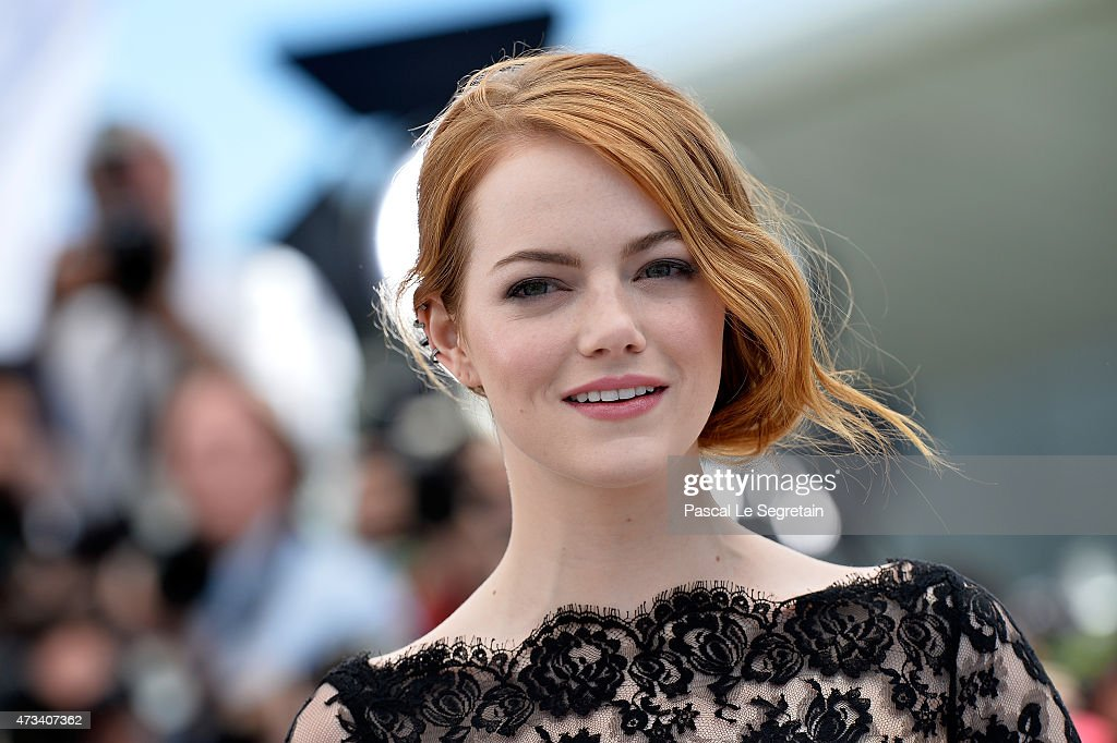 Actress Emma Stone attends a photocall for 'Irrational Man' during the 68th annual Cannes Film Festival on May 15, 2015 in Cannes, France.