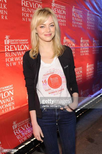 Actress Emma Stone attends the 16th Annual EIF Revlon Run Walk For Women on May 4, 2013 in New York City.