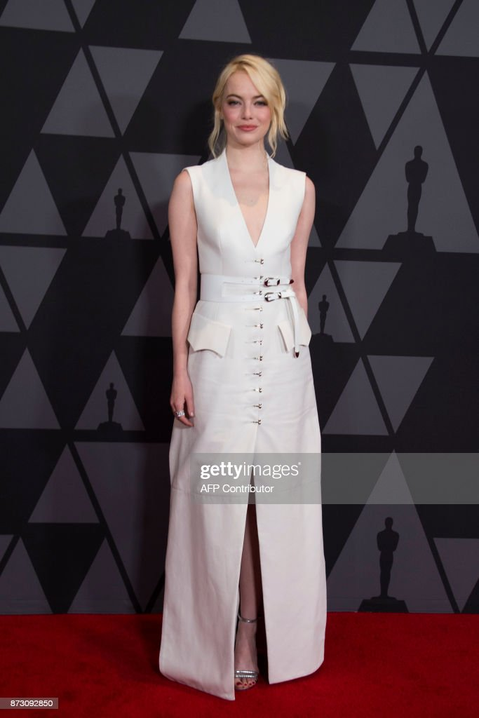 ENTERTAINMENT-US-FILM-GOVERNORS AWARDS-ARRIVALS : News Photo