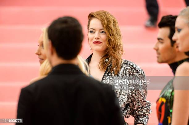 Actress Emma Stone attends The 2019 Met Gala Celebrating Camp Notes on Fashion at Metropolitan Museum of Art on May 6 2019 in New York City