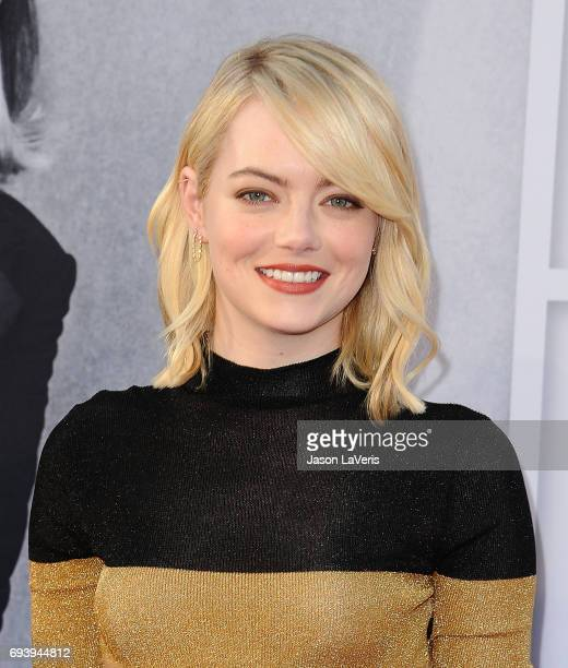 Actress Emma Stone attends the AFI Life Achievement Award gala at Dolby Theatre on June 8 2017 in Hollywood California