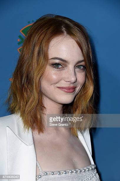 Actress Emma Stone attends the 'Aloha' Los Angeles premiere at The London West Hollywood on May 27 2015 in West Hollywood California