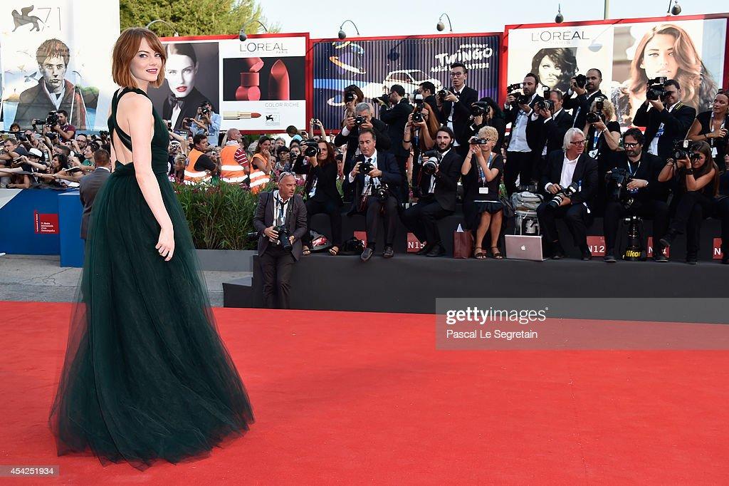 Opening Ceremony And 'Birdman' - Premiere - 71st Venice Film Festival : News Photo