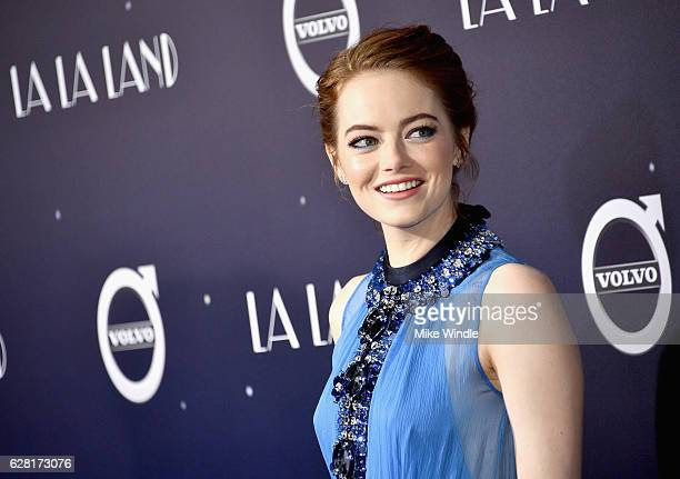 Actress Emma Stone attends the premiere of Lionsgate's La La Land at Mann Village Theatre on December 6 2016 in Westwood California