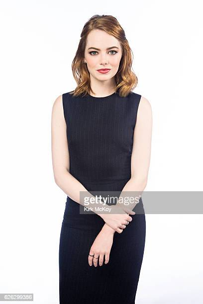Actress Emma Stone is photographed for Los Angeles Times on November 13 2016 in Los Angeles California PUBLISHED IMAGE CREDIT MUST READ Kirk...