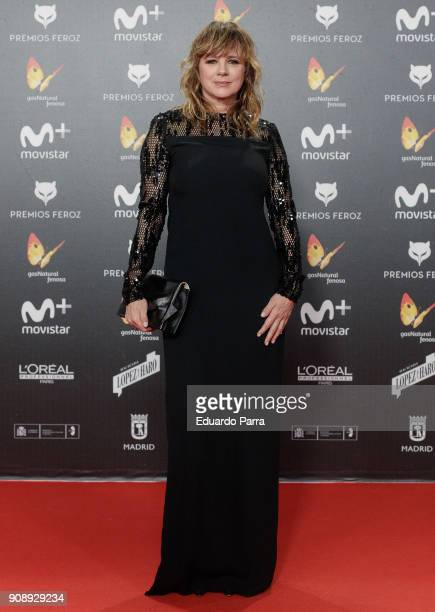 Actress Emma Suarez attends Feroz Awards 2018 at Magarinos Complex on January 22 2018 in Madrid Spain
