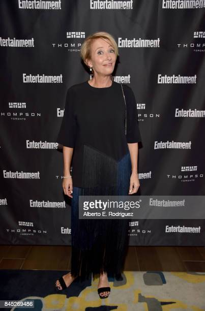 Actress Emma Thompson attends Entertainment Weekly's Must List Party during the Toronto International Film Festival 2017 at the Thompson Hotel on...