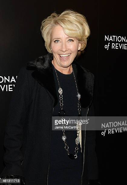 Actress Emma Thompson attends the 2014 National Board Of Review Awards Gala at Cipriani 42nd Street on January 7 2014 in New York City