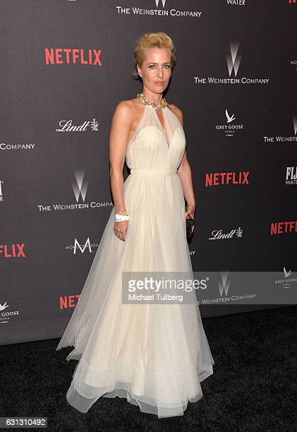 Actress Emma Thompson attends the 2017 Weinstein Company And Netflix Golden Globes After Party on January 8 2017 in Los Angeles California