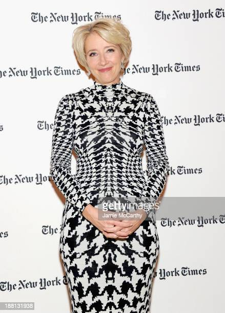 Actress Emma Thompson attends the Future Academy Museum of Motion Pictures special preview at TheTimesCenter on November 15 2013 in New York City