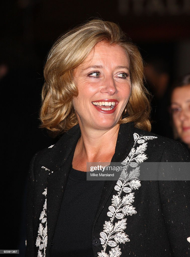 Actress Emma Thompson attends the Gala screening of 'An Education' during The Times BFI London Film Festival at Vue West End on October 20, 2009 in London, England.