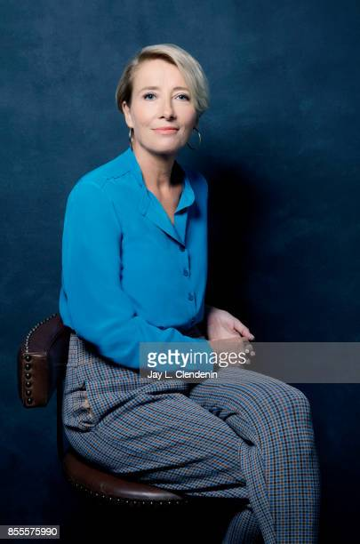 Actress Emma Thompson from the film The Children Act poses for a portrait at the 2017 Toronto International Film Festival for Los Angeles Times on...