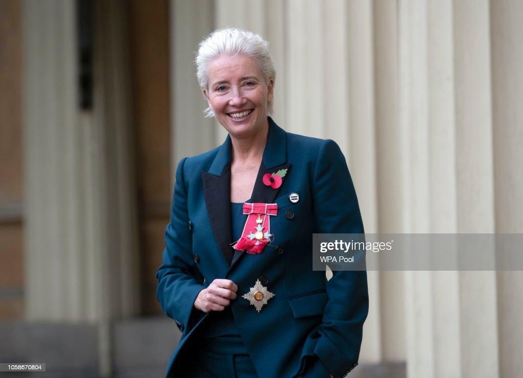 Investitures At Buckingham Palace : News Photo