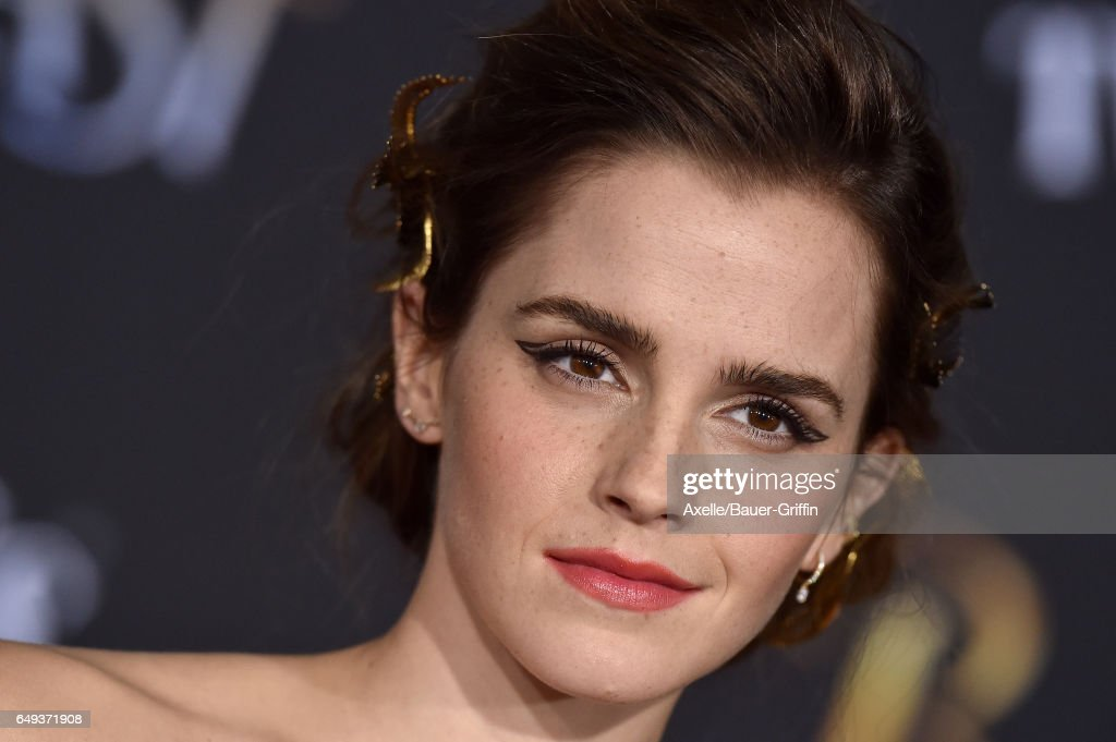 """Premiere Of Disney's """"Beauty And The Beast"""" : News Photo"""