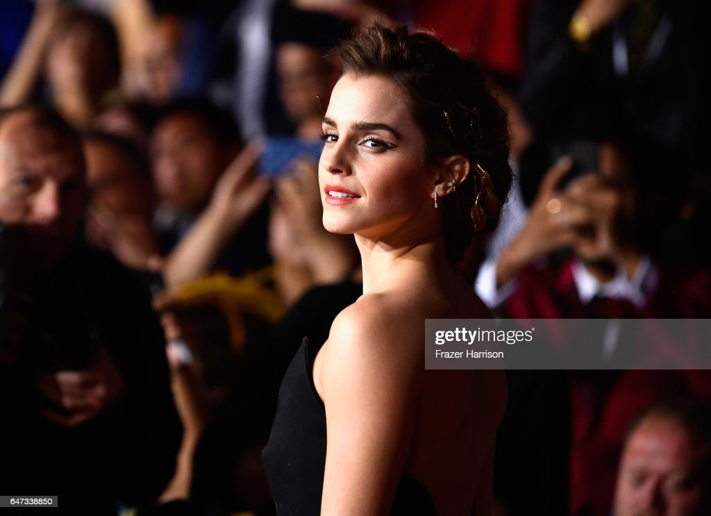 Premiere Of Disney's 'Beauty And The Beast' - Arrivals : News Photo