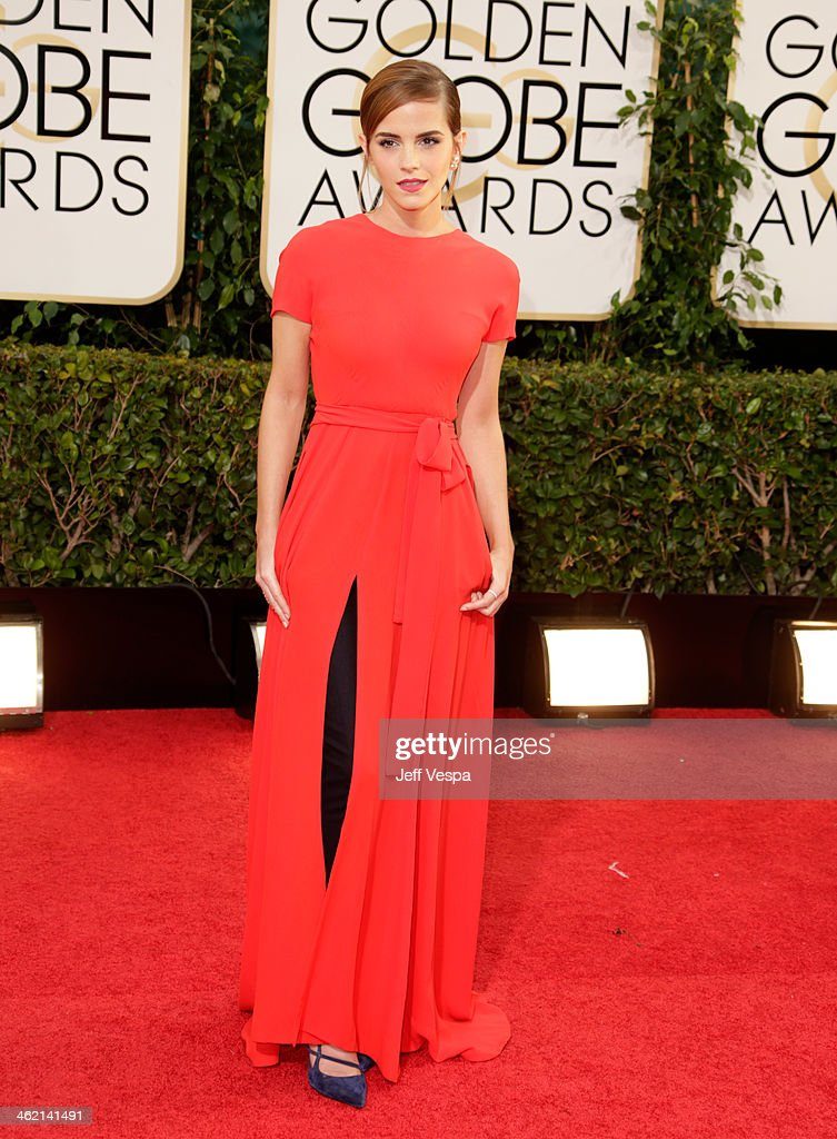71st Annual Golden Globe Awards - Arrivals : Foto jornalística