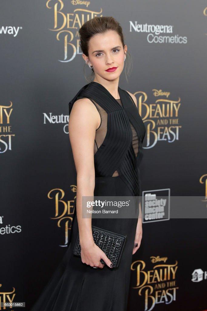 """Beauty And The Beast"" New York Screening : News Photo"