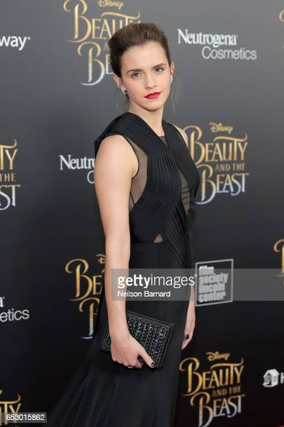 Actress Emma Watson attends the Beauty And The Beast New York Screening at Alice Tully Hall at Lincoln Center on March 13 2017 in New York City