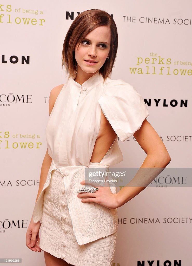 The Cinema Society Presents A Special Screening Of 'The Perks Of Being A Wall Flower'  - Arrivals : News Photo