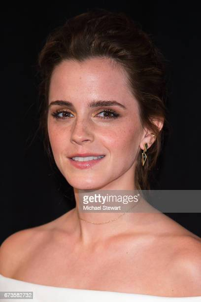 Actress Emma Watson attends 'The Circle' screening during 2017 Tribecca Film Festival at BMCC Tribeca Performing Arts Center on April 26 2017 in New...