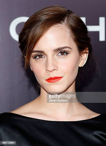 Actress Emma Watson attends the New York Premiere of 'Noah' at Clearview Ziegfeld Theatre on March 26 2014 in New York City