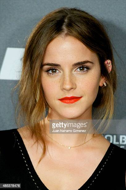 Actress Emma Watson attends the 'Regression' photocall at Villamagna Hotel on August 27 2015 in Madrid Spain