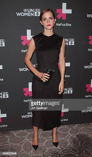 Actress Emma Watson attends the UN Women's 'HeForShe' VIP After Party at The Peninsula Hotel on September 20 2014 in New York City