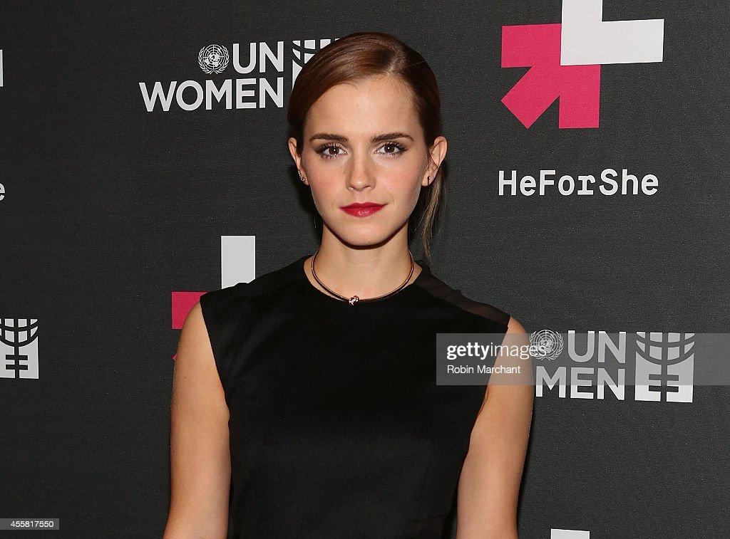 "UN Women's ""HeForShe"" VIP After Party : News Photo"