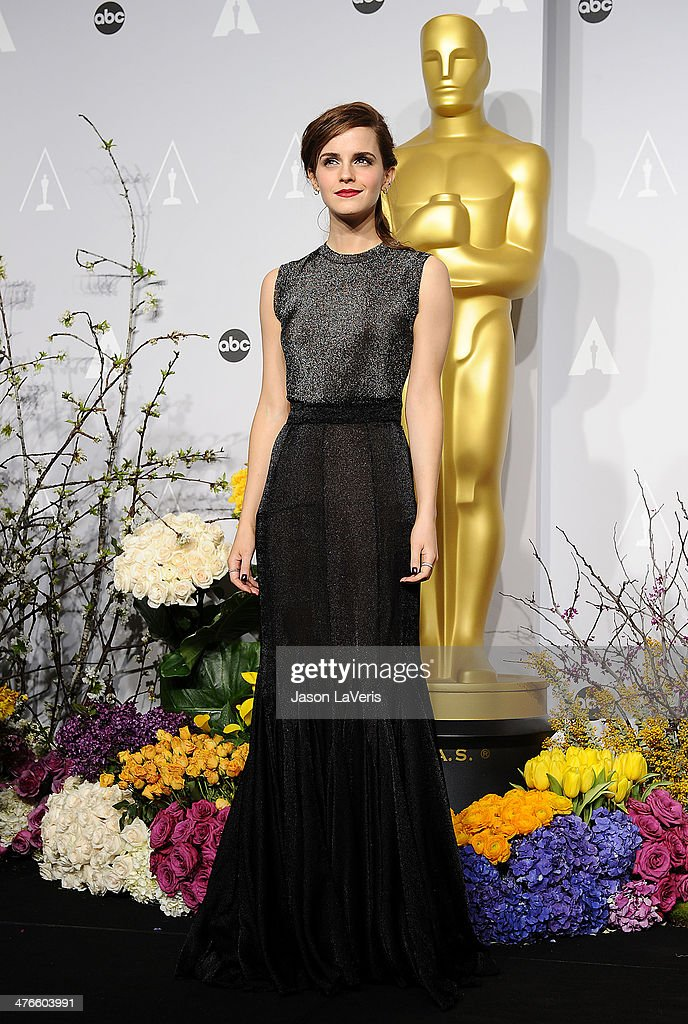 86th Annual Academy Awards - People Magazine Press Room : News Photo