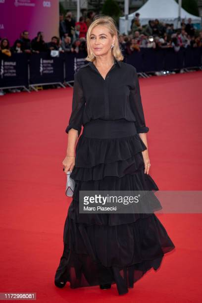 Actress Emmanuelle Beart attends the Tribute to the 25 Years Of Competition during the 45th Deauville American Film Festival on September 07 2019 in...